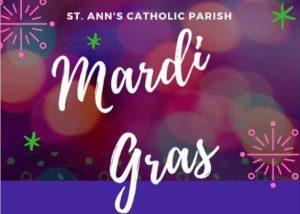 Mardi Gras - Fat Tuesday @ Parish Hall